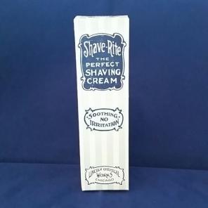 Vintage Shave Rite Shaving Cream for sale