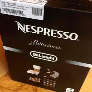 Nespresso Lattissima+ Espr Maker HOLD for sale