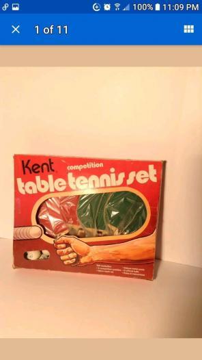 PING PONG Table Tennis Set VINTAGE NIB for sale