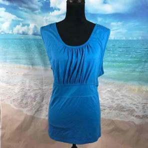 iB Diffusion Blue Azure Sleeveless Blous, used for sale
