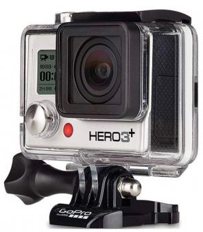 GoPro Hero3+ Silver Edition Bundle for sale