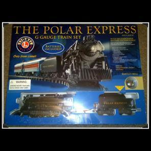 NEW, THE Polar Express G Gauge Train Set for sale