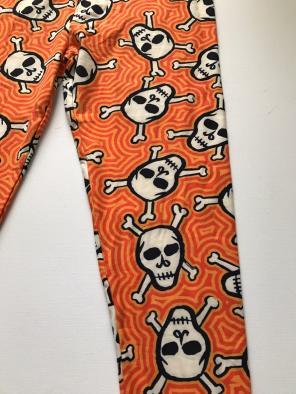 lularoe halloween leggings tc2 skull cr
