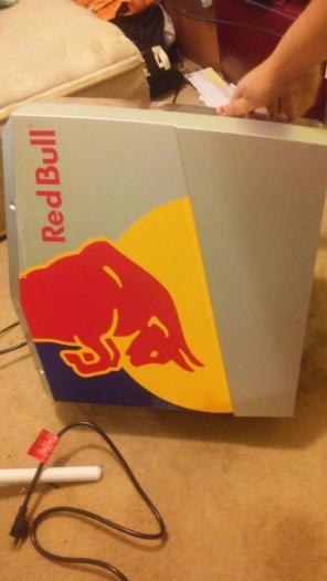 Used, Red Bull mini fridge for sale