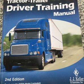 Tractor Trailer Driver Training manual for sale