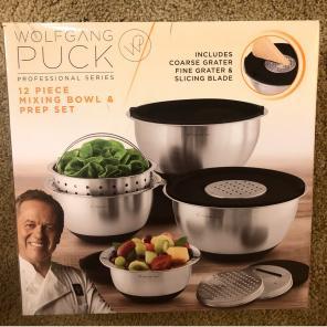 Wolfgang Puck Mixing Bowl Set for sale