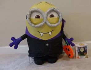 Minion With Nose Ring