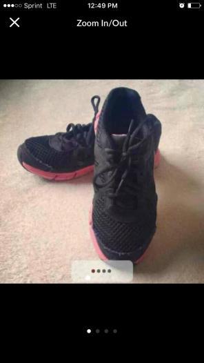 Used, Girls LA Gear Sneakers for sale