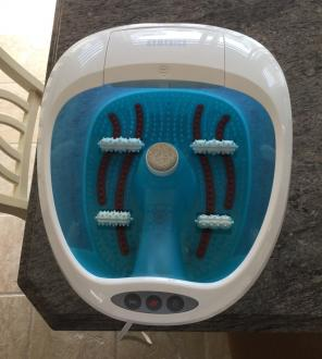 Homedics Foot Bath And Massager, used for sale