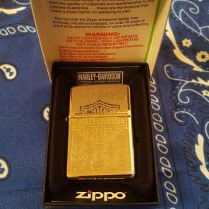 Used, HARLEY DAVIDSON ZIPPO BRAND NEW /TAG for sale