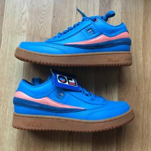Used, Fila X Pink Dolphin T1 Mid Blue 8.5 for sale