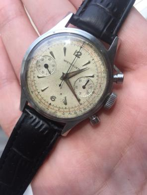 Vintage Mechanical Wittnauer Chronograph for sale