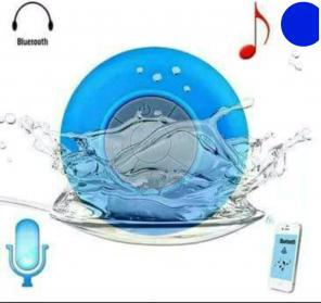 Used, Blue Waterproof Bluetooth Speaker for sale