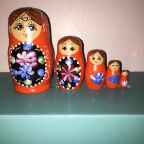 Russian Nesting Dolls/ Babushka Dolls, used for sale