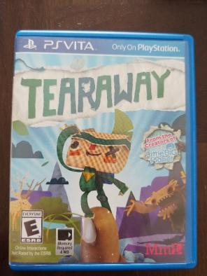 Used, Tearaway PS Vita Game for sale