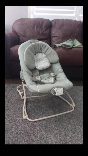 Graco Baby Bouncer Seat Foldable for sale