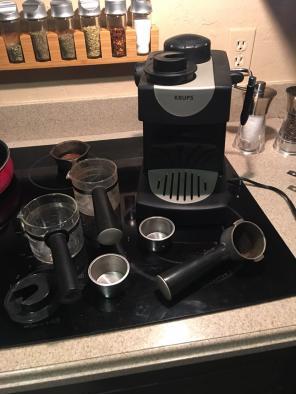 Used, Krups Espresso Machine for sale