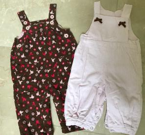 Set of 2 Overalls (Baby Boden, Jacadi) for sale