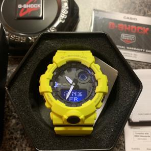 Casio G-Shock Yellow Bluetooth Brand New for sale