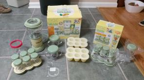 Magic Baby Bullet Blender w/ Extras GUC for sale