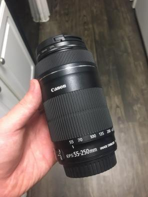 Canon 55-250mm IS2 Telephoto Lens for sale