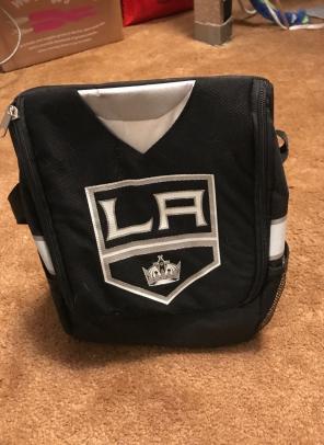 LA Kings Jonathan Quick Lunch Bag for sale