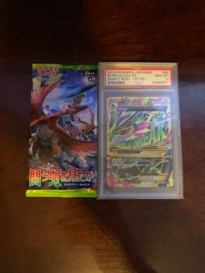 Japanese Psa 10 M Rayquaza Ex, used for sale